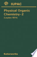 Physical Organic Chemistry—Ii