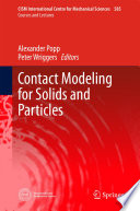 Contact Modeling for Solids and Particles