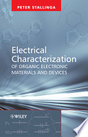 Electrical Characterization Of Organic Electronic Materials And Devices Book PDF
