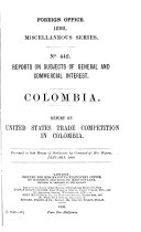 Diplomatic and Consular Reports