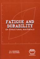 Fatigue and Durability of Structural Materials