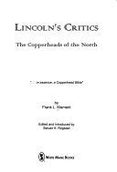 Lincoln s Critics Book