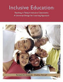 Teaching in Today s Inclusive Classrooms Book