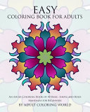 Easy Coloring Book for Adults