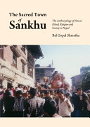Pdf The Sacred Town of Sankhu Telecharger