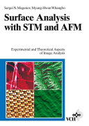 Surface Analysis with STM and AFM