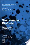 Sustainable Biofuels Book