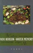 Water Memory Book PDF