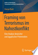 Framing von Terrorismus im Nahostkonflikt