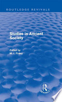 Studies In Ancient Society Routledge Revivals