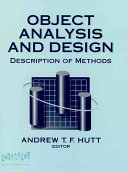 Object Analysis and Design