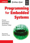 CRACKING THE CODE PROGRAMMING FOR EMBEDDED SYSTEM  With CD   Book