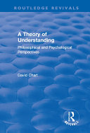 A Theory of Understanding