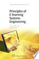 Principles Of E Learning Systems Engineering Book PDF