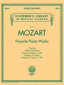 Mozart   Favorite Piano Works Schirmer s Library of Musical Classics