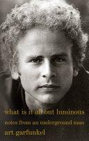 What Is It All but Luminous Pdf/ePub eBook
