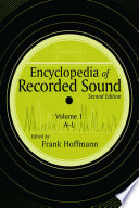"""Encyclopedia of Recorded Sound"" by Frank Hoffmann"
