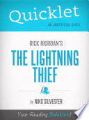 Quicklet on Rick Riordan s The Lightning Thief
