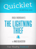 Quicklet on Rick Riordan's The Lightning Thief
