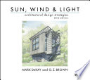 Sun  Wind  and Light  Architectural Design Strategies Book