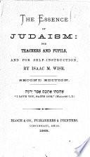 The Essence of Judaism