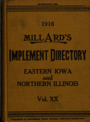 Millard's Implement Directory of Illinois and Iowa
