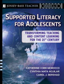 Supported Literacy for Adolescents Book