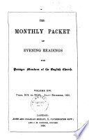 The Monthly Packet of Evening Readings for Younger Members of the English Church; Vol XVI, Jul-Dec 1858