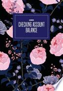 Checking Account Balance Log Book