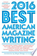 The Best American Magazine Writing 2016 Book PDF