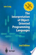 The Interpretation of Object Oriented Programming Languages Book