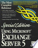 Using Microsoft Exchange Server 5