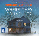 Where they found her  Spoken word   MP3 CD
