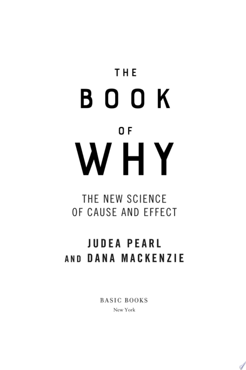 The Book of Why image