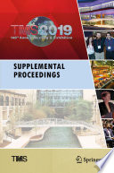 TMS 2019 148th Annual Meeting   Exhibition Supplemental Proceedings