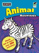 Animals Activities Dover Chunky Book