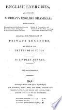 Key to the Exercises adapted to Murray s English Grammar     The eighth edition improved