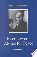 Eisenhower s Atoms for Peace Book