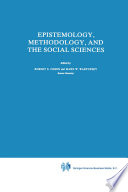 Epistemology Methodology And The Social Sciences