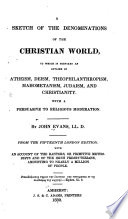 A Sketch Of The Denominations Of The Christian World Book