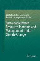 Sustainable Water Resources Planning and Management Under Climate Change Book