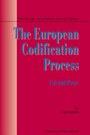 The European Codification Process