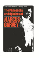 The Philosophy and Opinions of Marcus Garvey Book