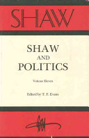 Shaw And Politics Book PDF