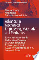 Advances in Mechanical Engineering  Materials and Mechanics