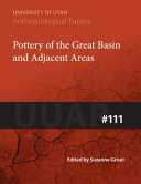 Pottery of the Great Basin and Adjacent Areas