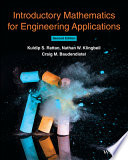 link to Introductory mathematics for engineering applications in the TCC library catalog