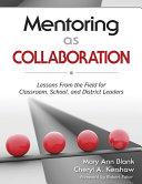 Mentoring as Collaboration