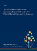 Transnational Social Spaces and Transnationalism
