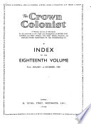The Crown Colonist